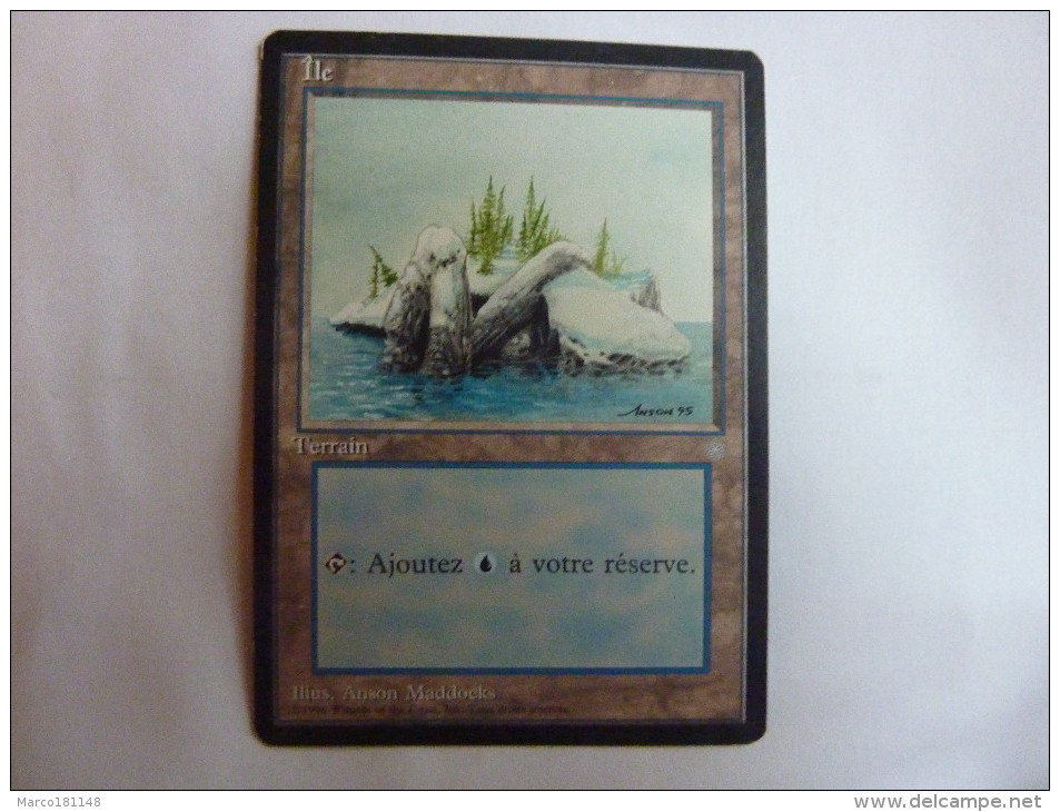 Magic The Gathering Ile Terrain - Non Classés
