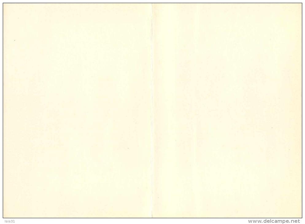 Chine - China - Illustrateur - Poules - TS'I Pai-Che - La Poule - Editions Hoa Qui -Grand Format-Carte Double (2 Volets) - Chine