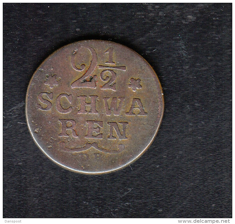 Bremen 2 1/2 Schwaren 1797 - Small Coins & Other Subdivisions