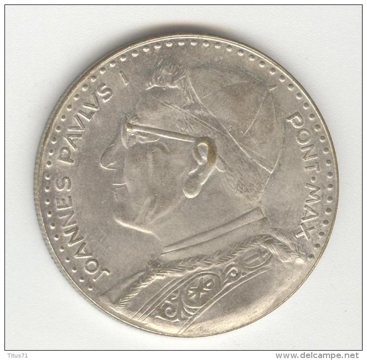 Médalle Vatican - Sede Vacante 1978 - Jean Paul 1er - Joanes Paulus I - Jetons & Médailles