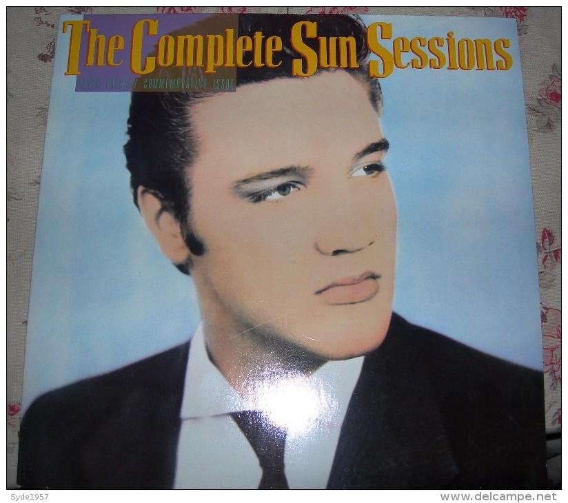 Elvis Presley The Complete Sun Sessions (2 LP RCA) Avec Poster. Excellent état - Rock