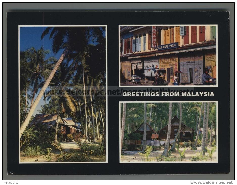 U5752 GREETINGS FROM MALAYSIA ExtraGrande (tur) - Malesia