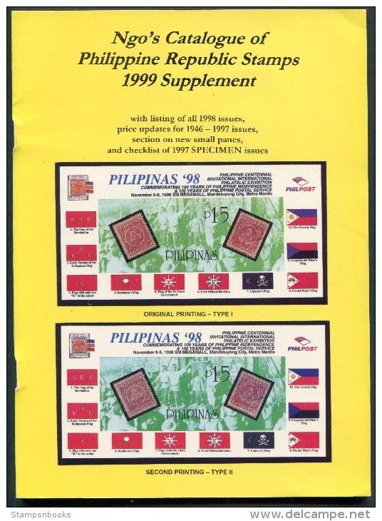 Ngo´s Catalogue Of Philippine Republic Stamps (1999 Supplement) - Postzegelcatalogus