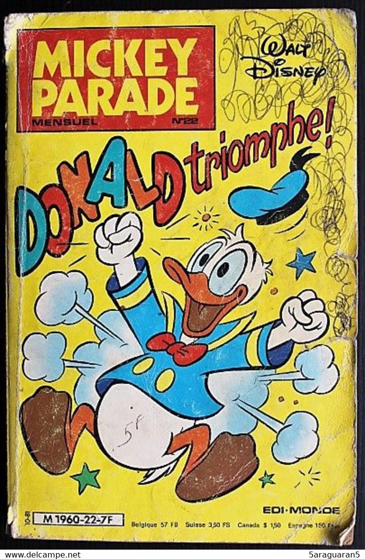 BD MICKEY PARADE - 22 - Donald Triomphe - 1981 - Mickey Parade