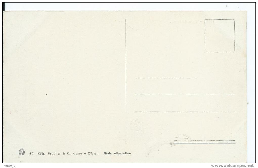AK 0199  Lago Di Como - Chiesa Di Tremezzo / Verlag Brunner & Co Um 1910-20 - Como