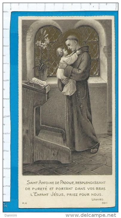 Holycard  -   St. Antonius - Images Religieuses