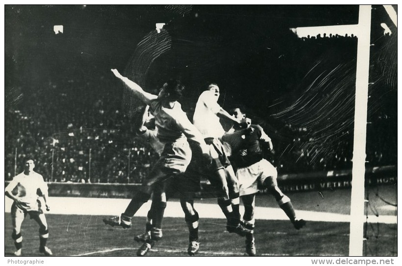 France Parc Des Princes Football Match Racing 2 Reims 1 Ancienne Photo 1947 - Sports
