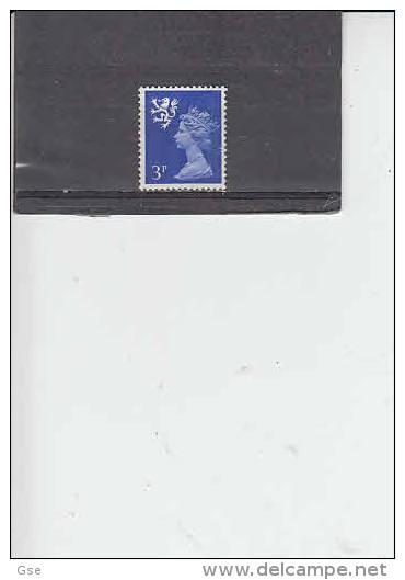 GRAN BRETAGNA 1971 - Unificato  628a - Scozia - 1952-.... (Elisabetta II)