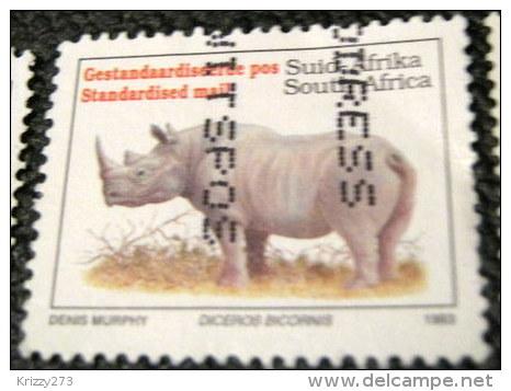 South Africa 1993 Rhinoceros Diceros Bicornis Standardised Mail - Used - Used Stamps