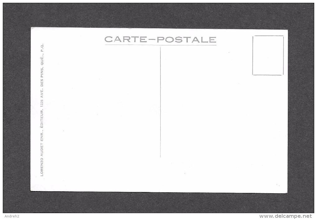 SEPT ILES - COTE NORD - QUÉBEC - AVIATION - AVION - SEVEN ISLANDS NORTH SHORE - PAR LORENZO AUDET - Quebec