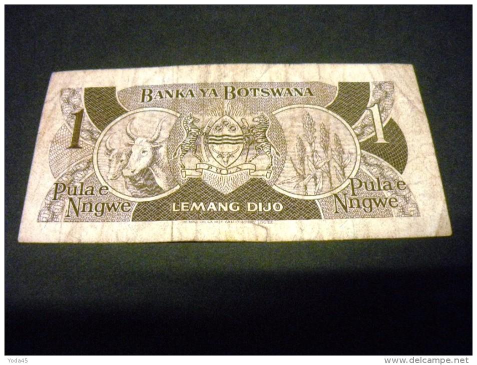 BOTSWANA 1 Pula 1983, Pick 6 A, BOTSWANA - Botswana