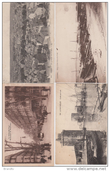 Beau Lot De 100 Cartes Postales Anciennes De Diverses Regions De France-frais De Port 8 Euros (en Recommandée) - 100 - 499 Cartes
