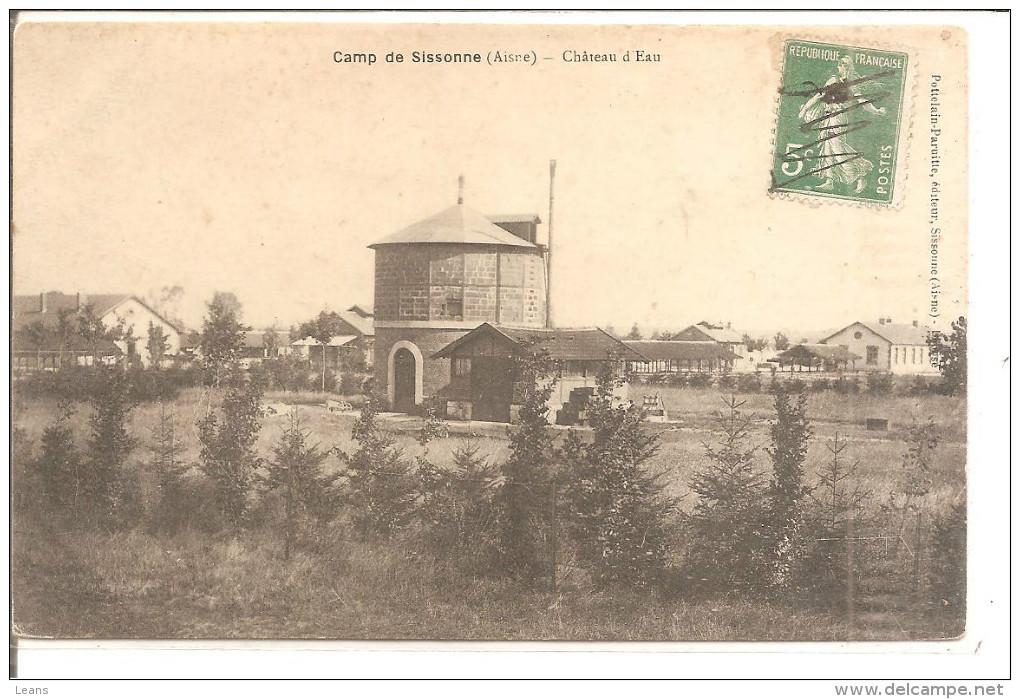 CAMP DE SISSONNE  Le Chateau D'eau - Châteaux D'eau & éoliennes