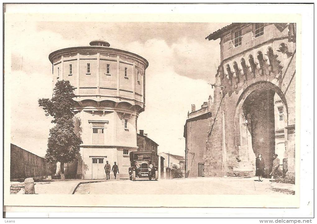 VERDUN   La Porte Chatel , Le Chateau D'eau - Châteaux D'eau & éoliennes