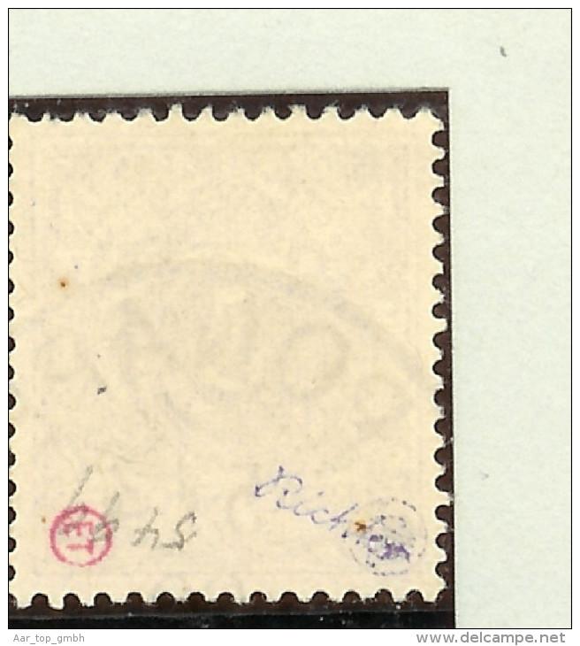 Deutsche Post Auf Den Karolinen Mi# 1 I Gestempelt Signiert - Colonie: Carolines