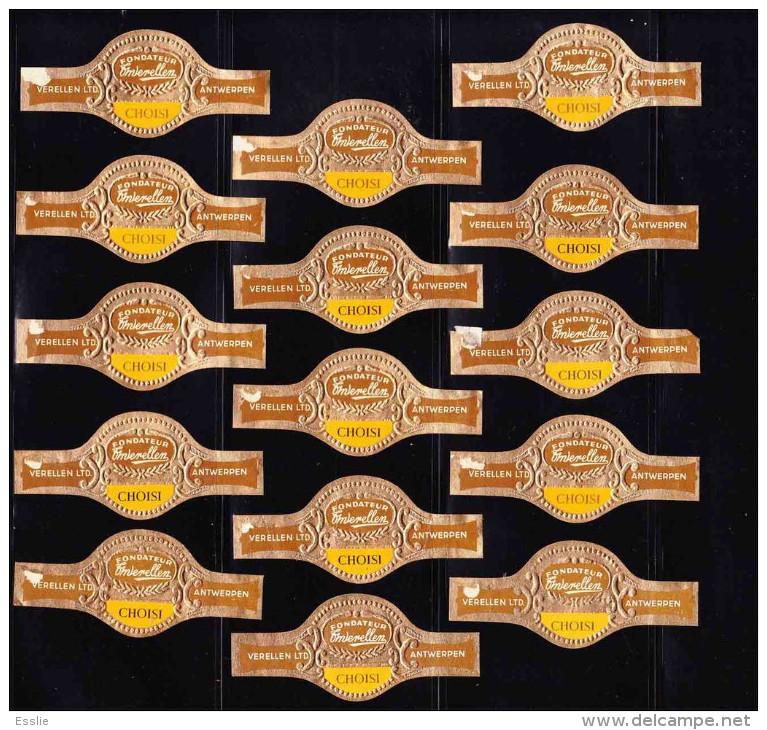 Cigar Bands - Verellen LTD, Antwerpen, Fondateur, Choisi - Bagues De Cigares