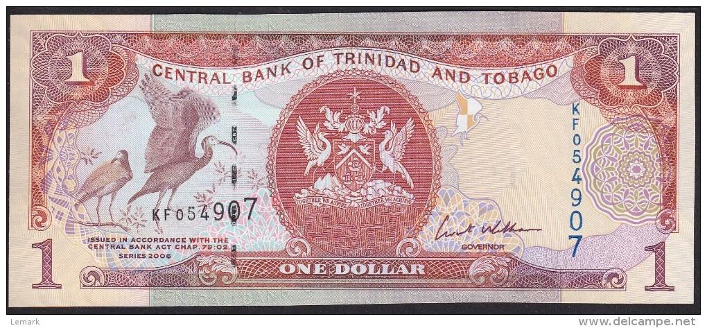 Trinidad & Tobago 1 Dollar 2006 P46 UNC - Trinidad & Tobago