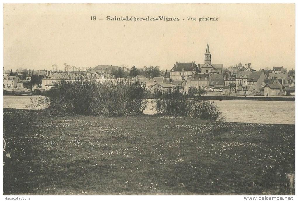 Saint-Léger Des Vignes   (58.Nièvre)  Vue Générale - Other Municipalities