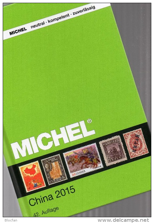 CHINA MICHEL Katalog 2015 New 84€ Asia Book 9 Part 1 Chine Macao Hong Kong Republik Taiwan Tibet Stamp Catalogue Of CINA - Oude Documenten