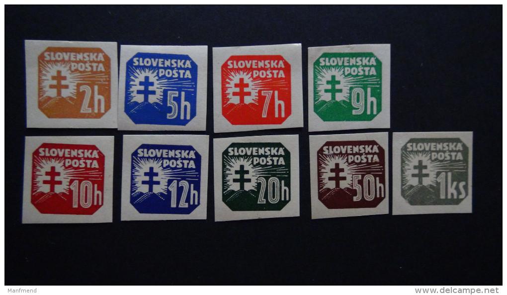 Slovakia - 1939 - Mi:54-9,61,64-5**MNH - Look Scan - Unused Stamps