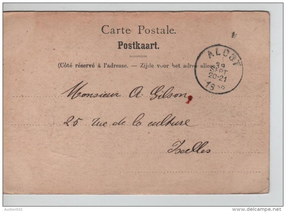 TP 53 Roulette Alost 1902 S/CP L'Eglise St.Martin D'Alost Nels Série 15 N°1 C.Alost En 1902 PR2267 - Precancels
