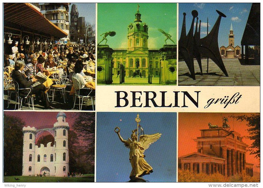 Berlin - Mehrbildkarte 295 - Mitte