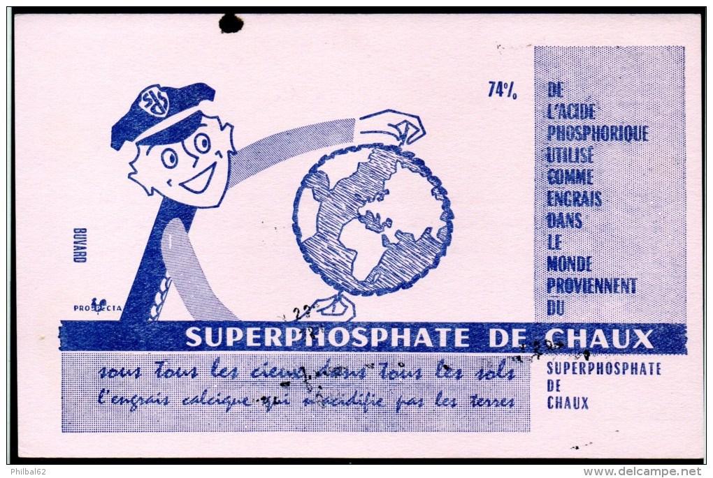 Buvard : Superphosphate De Chaux, L'engrais Calcique. - Agriculture