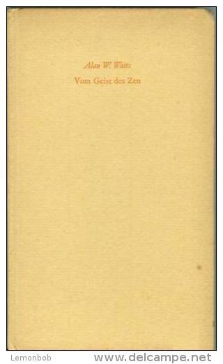 Vom Geist Des Zen By Watts, Alan W. - Books, Magazines, Comics