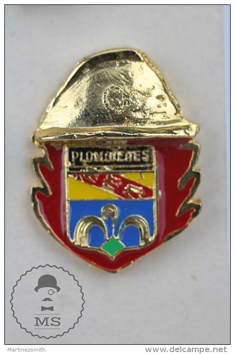 Plombières-les-Bains France Sapeurs Pompiers  Fireman/ Firefighter - Pin Badge #PLS - Bomberos