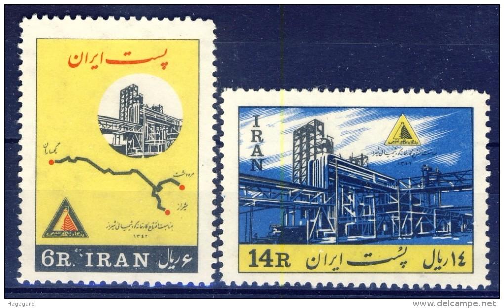 ##K1518. Iran 1963. Michel 1170-71. MNH(**) Please Observe The Description ! - Iran