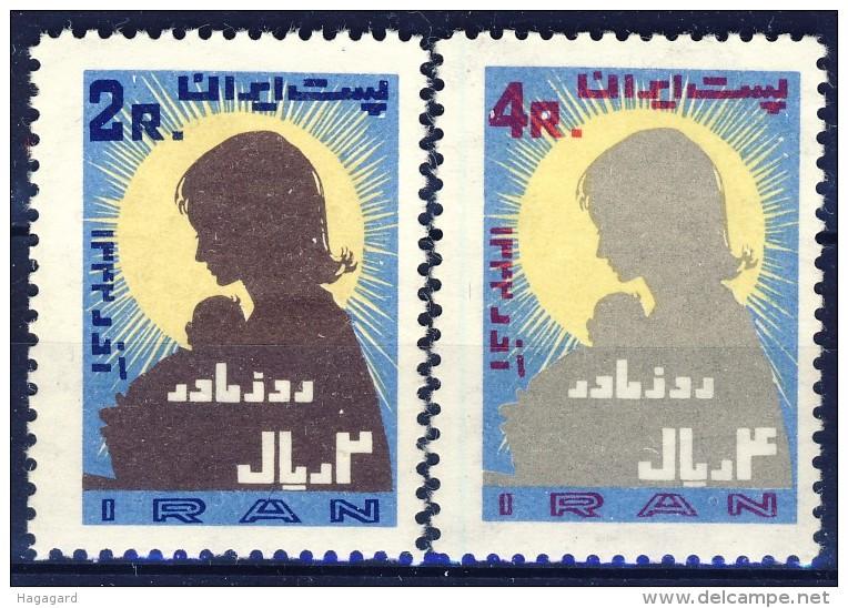 ##K1524. Iran 1963. Michel 1184-85. MNH(**) Please Observe The Description ! - Iran