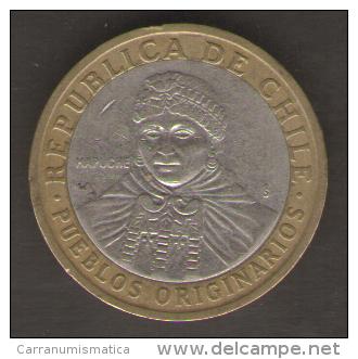 CILE 100 PESOS 2006 BIMETALLICA - Chile