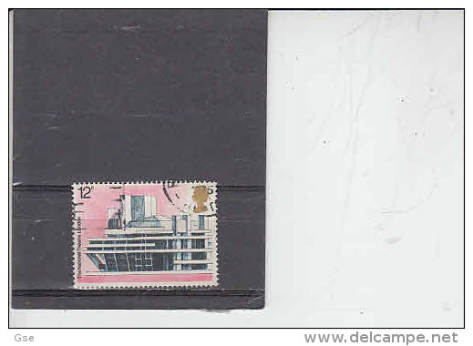 GRAN BRETAGNA   1975 - Unificato  755 - Architettura - 1952-.... (Elisabetta II)