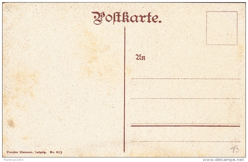 Old Card ? Of Bismarck-Denkmal,Berlin,Germany,J6 - Germany