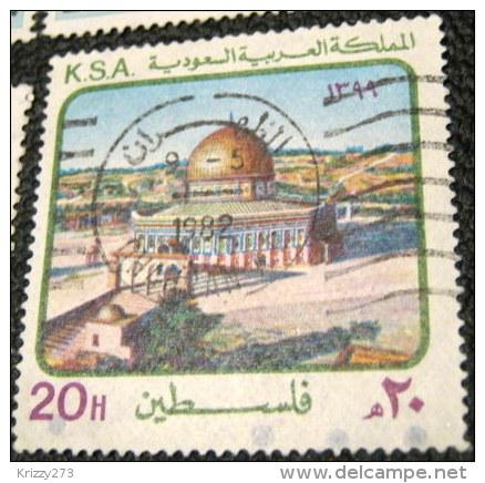 Saudi Arabia 1979 Soldarity With Palestinians 20h - Used - Arabia Saudita