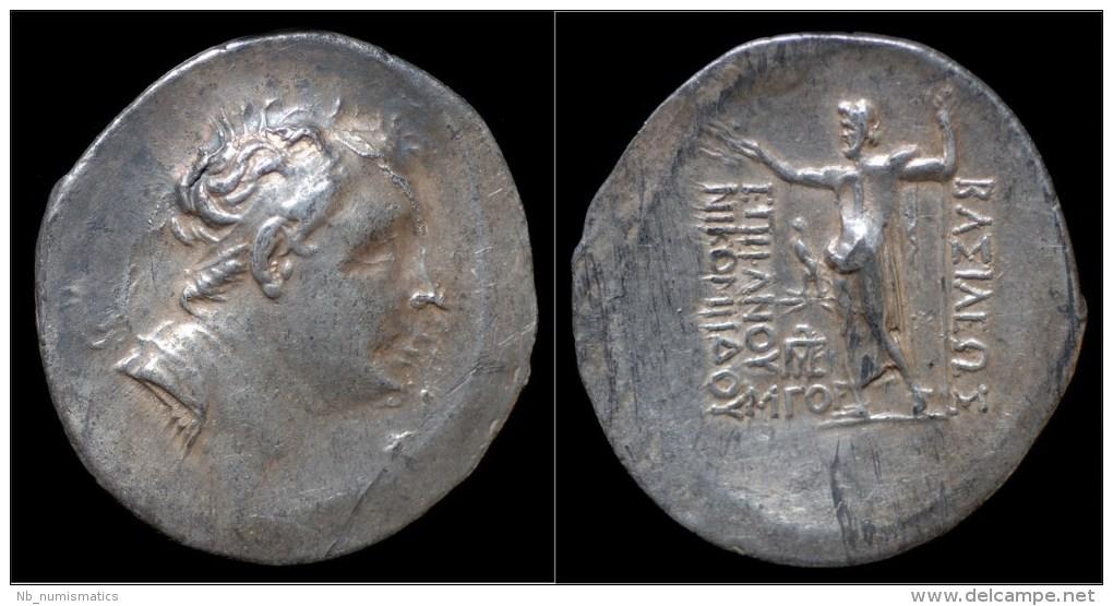 Kingdom Of Bithynia Nikomedes III Euergetes AR Tetradrachm - Greek