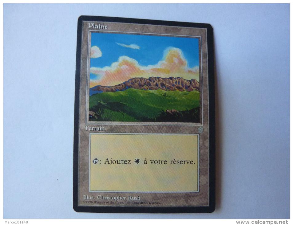 Magic The Gathering Terrain Plaine - Non Classés