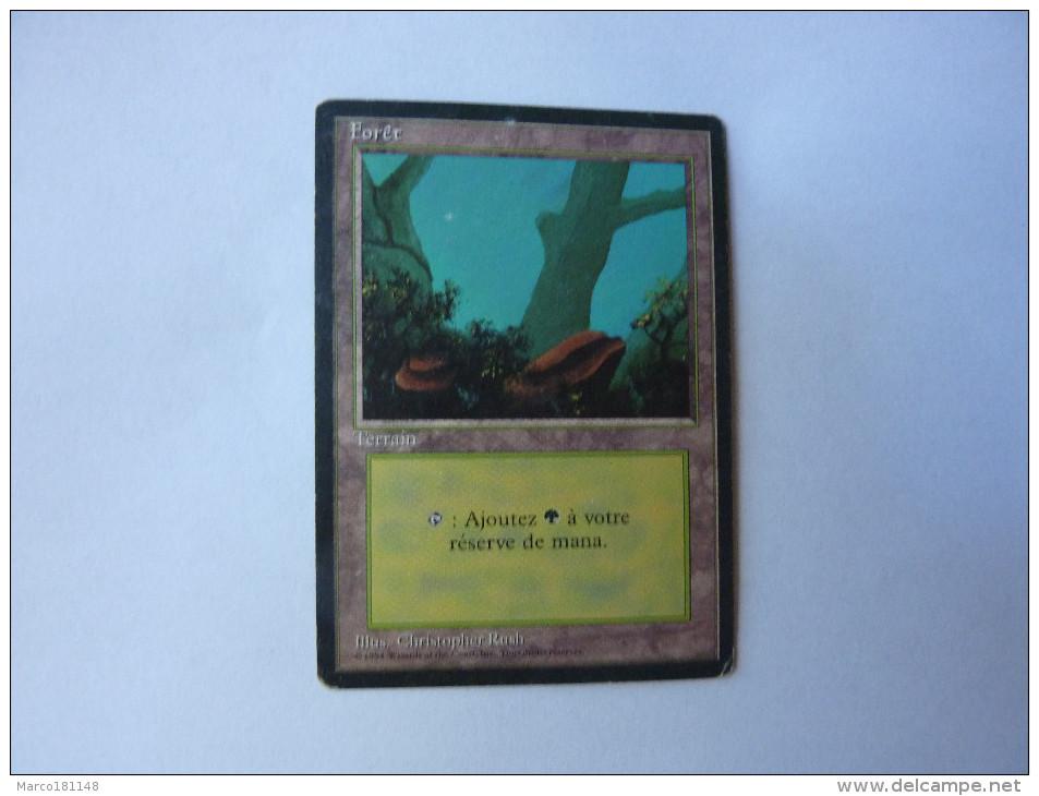Magic The Gathering Terrain Forêt - Non Classés