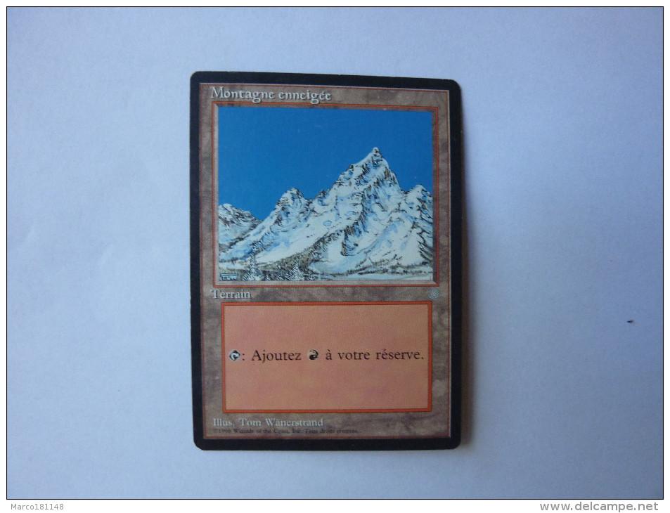 Magic The Gathering Terrain Montagne Enneigée - Non Classés