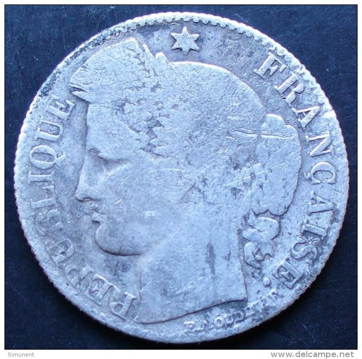 50 CENTIMES CERES 1874 A RARE TRES DIFFICILE A TROUVER - G. 50 Centimes