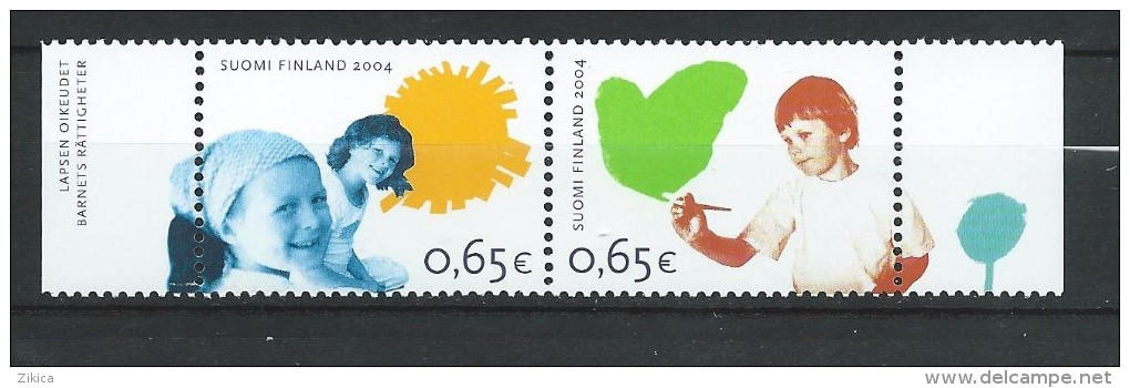 Finland 2004 Right Of The Child.MNH Neuf - Finland