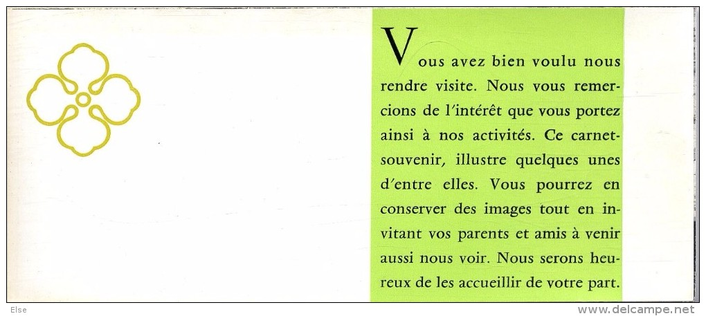 MARSEILLE  LA SOCIETE RICARD  CARNET COMPRENAND 7 CARTES ET INTERCALAIRES EXPLICATIFS - Ambachten