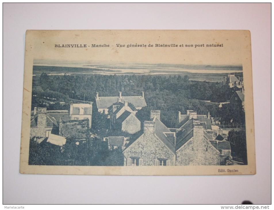 TEL3 -  CPA14 BLAINVILLE - France