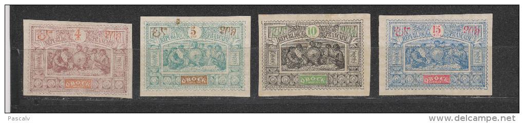 Yvert 49 - 50 - 51 - 52 * Neuf Avec Charnière - Unused Stamps
