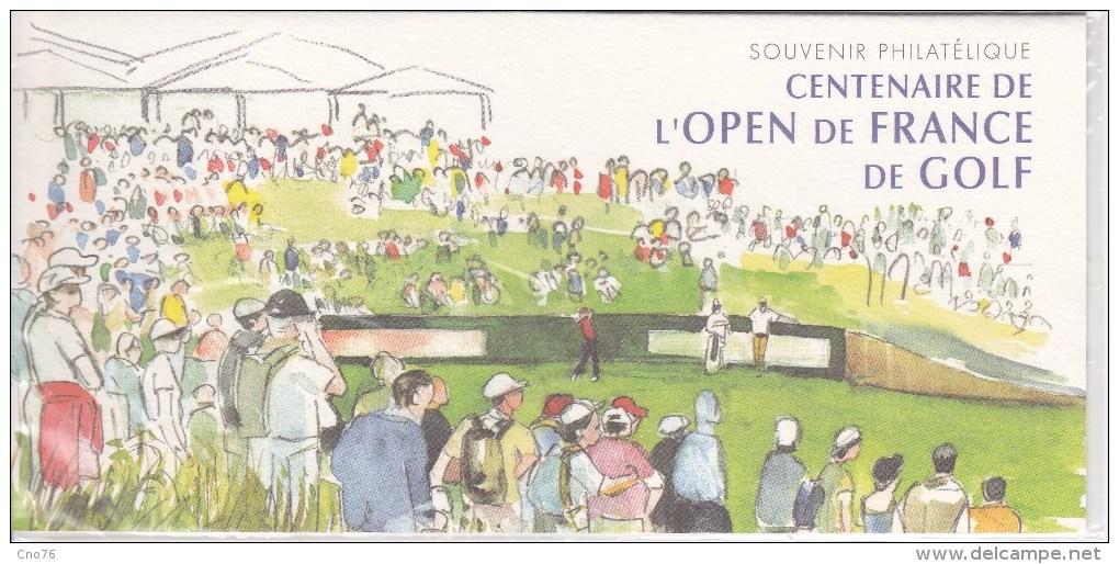 France Bloc Souvenir N° 13 Golf, Blocs Sous Blister Xx - Bloques Souvenir