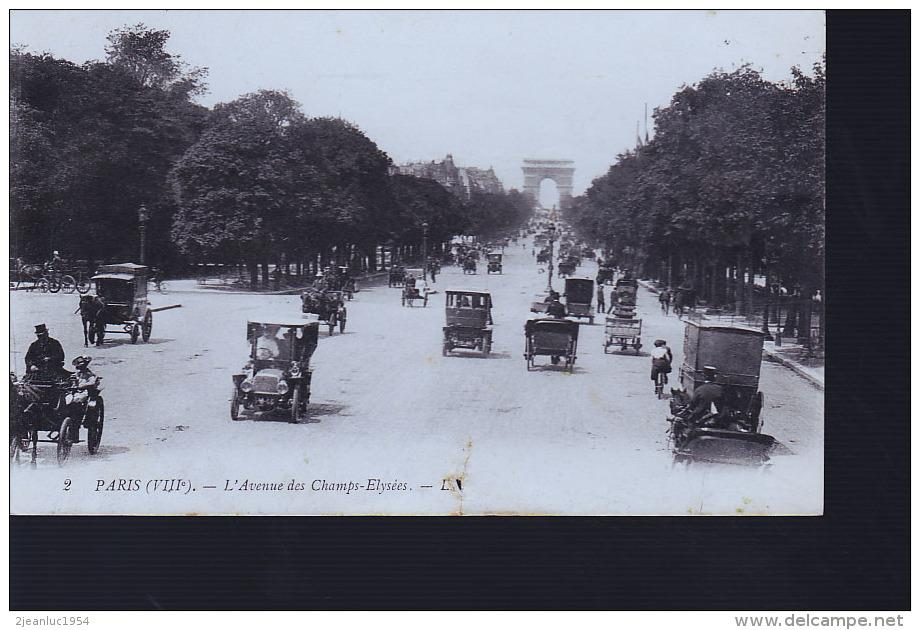 PARIS CHAMPS ELYSEES 1903 - Arrondissement: 19