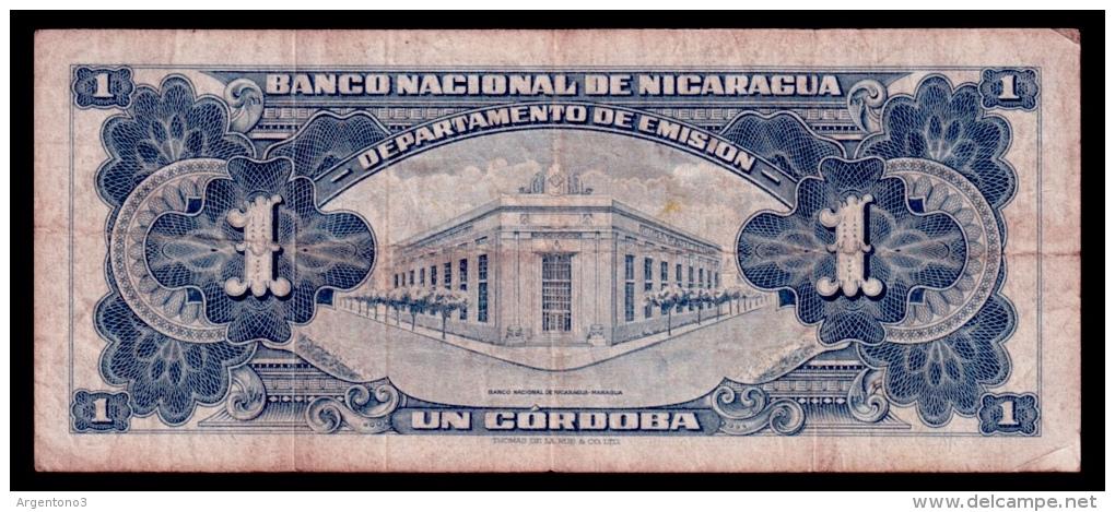 Nicaragua 1 Cordoba 1959 F- - Nicaragua