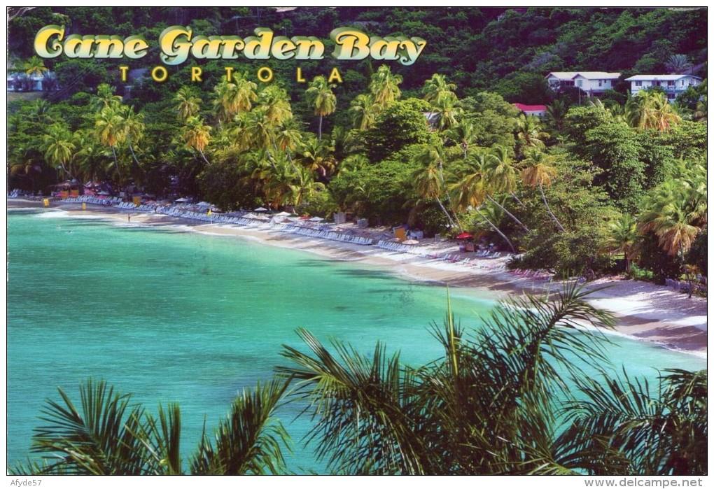 CPM: Vierges (iles ,britannique) (Antilles - Amérique): Gane Garden Bay - Tortola.        (A 1828) - Vierges (Iles), Britann.