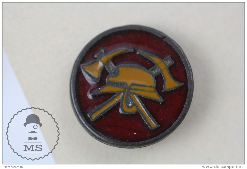 Fireman Firefighter - Pin Badge #PLS - Bomberos