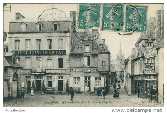22 PAIMPOL / Rue De L'Eglise / - Paimpol